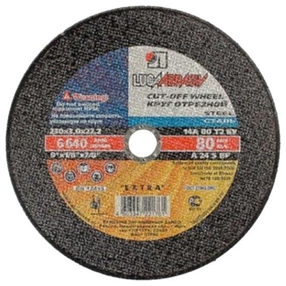диск отрезной по металлу 230*3,0*22 (луга)