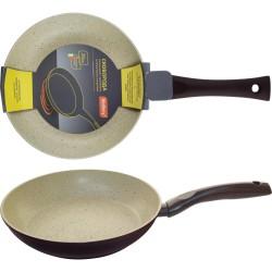 Сковорода d=20см MP-20 Mallony алюминиевая с мраморным антиприг-м покр-ем,штамповка 002100