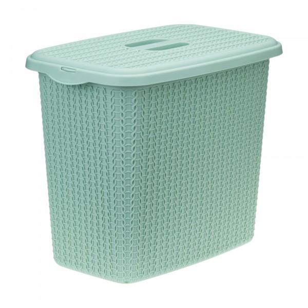 контейнер для стирального порошка 6л вязание фисташковый идея м1244