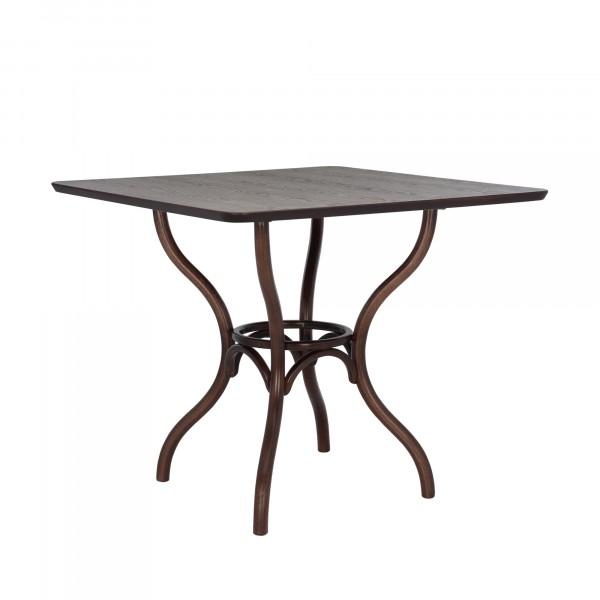 стол leset тор квадратный тёмный орех 6019-2505