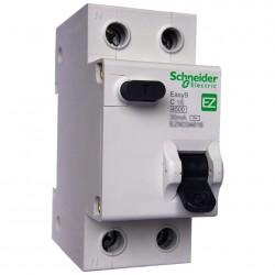 Выключатель автомат. диф.1П+Н 16А 30мА C AC, Schneider Electric EASY 9, SE EZ9D34616