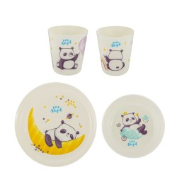Набор детской посуды Panda Little Angel LA1105-НК