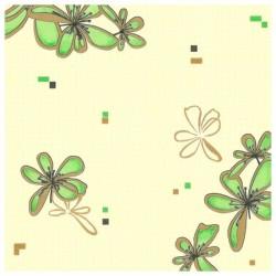 Обои 190-77 Home Color винил 0,53*10,05м цветы, зеленый