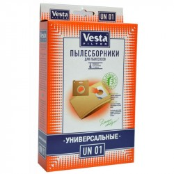 Комплект пылесборников 4шт, универсальный Vesta filter UN 01