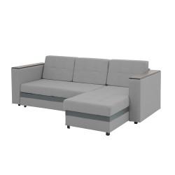 Диван-Кровать Страйк угловой 2320х1520х820 Grey
