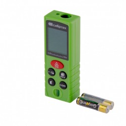 Дальномер лазерный PM-40 с пузырьк.уровнем, 40м, погр. 2мм, Сибртех 38010