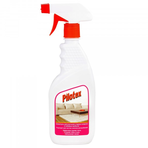средство для ручной чистки ковров и обивки мебели 500мл pilotex 116