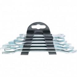 Набор ключей рожковых  6шт 6*17мм хромированных Sparta 152305