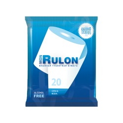 Бумага туалетная Mon Rulon влажная 20шт