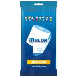 Бумага туалетная Mon Rulon влажная детская 50шт