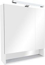 зеркало-шкаф roca gap 80 см белое матовое