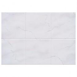 Панель ПВХ 0,96*0,485*0,002 кафельная плитка 68/4 Серый мрамор
