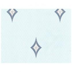 Обои С6БР Вернисаж-1 симплекс 0,53*10,05м геометрия, голубой (компаньон)