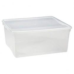 Ящик для хранения 18л прозрачный 4312493