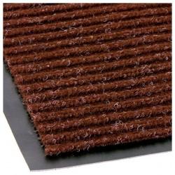 Коврик влаговпитывающий 40*60см VORTEX ребристый, коричневый