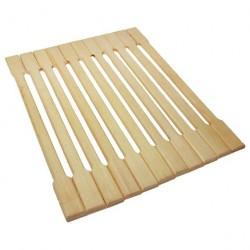 Коврик Банные штучки деревянный, липовая рейка 50*150см 34001