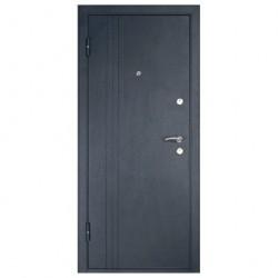Дверь металлическая Лайн В 860*2050 Левая венге