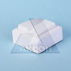 Выключатель 2кл Хит о/у белый VA56-232-B
