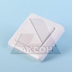 Выключатель 1кл Хит с/у белый VS16-133-B