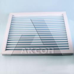 Решетка радиаторная белая 0,6*0,6м