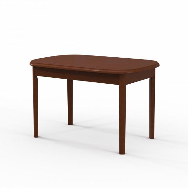 стол обеденный овальный вм30 коньяк (1,2*1,6*0,8)
