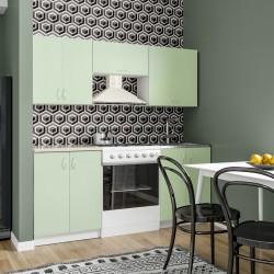 Кухня ЛДСП 1,8 зеленый