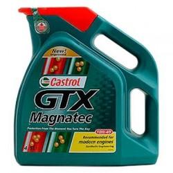 Масло моторное 10W40 4л полусинтетическое А3/В4 Castrol GTX Magnatec