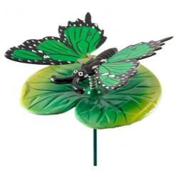 Штекер садовый Бабочка на цветке GS-AR2016-5