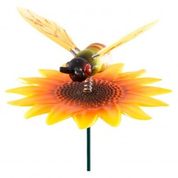 Штекер садовый Жучок на цветке GS-AR2032-5