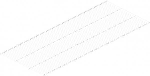 полки мебельные manhattan comfort полка bpl 24 полка проволочная 405х1212 мм, белая