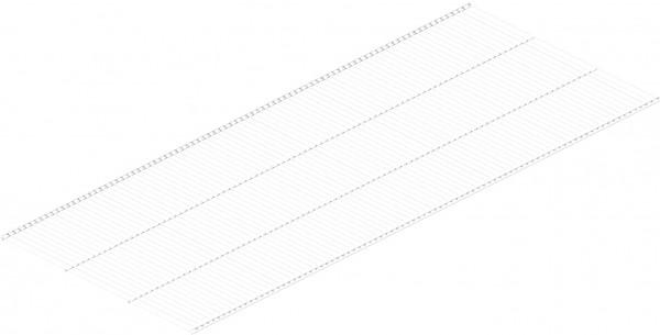 полки мебельные manhattan comfort полка bpl 24 полка проволочная 505х1212 мм, белая