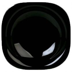Тарелка суповая 21см КАРИН черная H3661