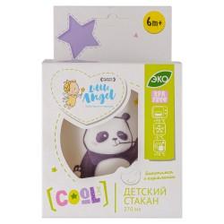 Стакан детский 270мл Panda Little Angel LA1102-НК