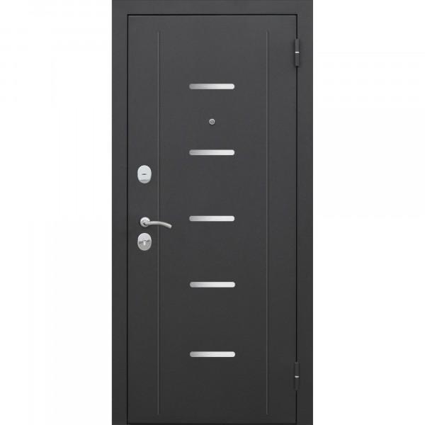 Фото - дверь входная 7,5 см гарда муар 2050х860мм правая, тёмный кипарис дверь входная garda муар царга 2050х960мм левая тёмный кипарис