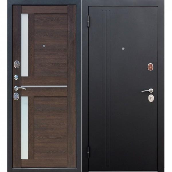 Фото - дверь входная 7,5 см нью-йорк муар 2050х960мм левая, каштан мускат дверь входная garda муар царга 2050х960мм левая тёмный кипарис