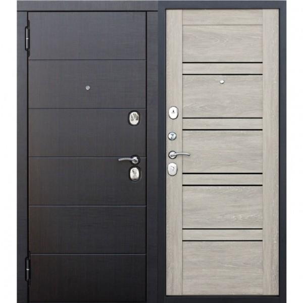 Фото - дверь входная 10,5 см чикаго 2050х960мм левая, дуб шале белый дверь входная garda муар царга 2050х960мм левая тёмный кипарис