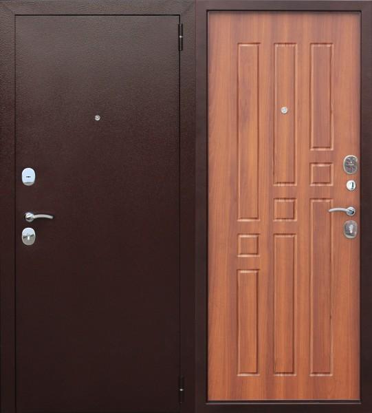 Фото - дверь входная garda 8мм 2050х960мм правая, рустикальный дуб дверь входная garda муар царга 2050х960мм левая тёмный кипарис