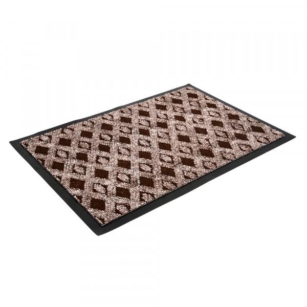 коврик придверный влаговпитывающий 40х60см vortex 22397 коврик vortex вытирайте ноги 40х60см резина