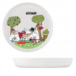 Тарелка детская 450мл MOOMIN MILKY Plast Team PT1002MOOMIN-МЛ-20