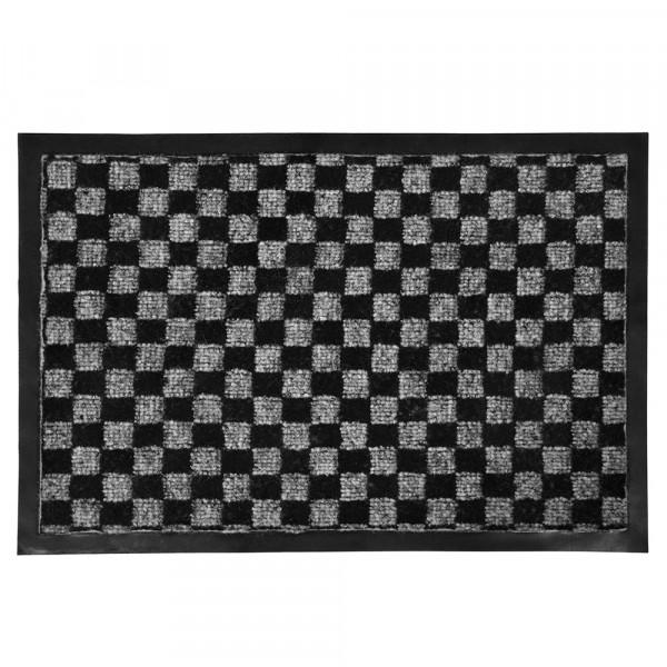 коврик придверный влаговпитывающий 40х60см vortex 22398 коврик vortex вытирайте ноги 40х60см резина