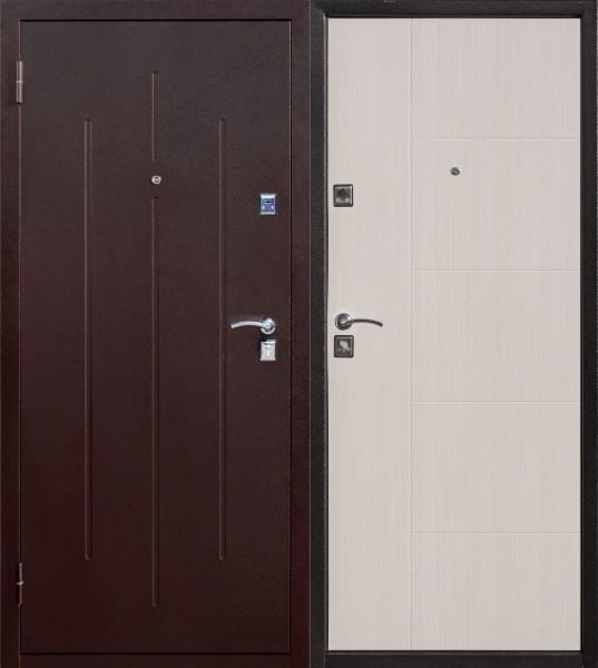 Фото - дверь входная стройгост 7-2 2050х960мм левая, белый клён дверь входная garda муар царга 2050х960мм левая тёмный кипарис