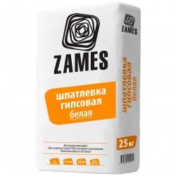 Шпатлевка базовая гипсовая 25кг /ZAMES/