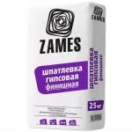 Шпатлевка финишная гипсовая 25кг /ZAMES/