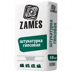 Штукатурка гипсовая 30кг /ZAMES/