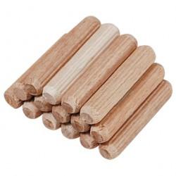 Шканты деревянные 10*30 /18шт/ 801080