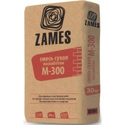 Смесь сухая цементно-песчаная ZAMES М300, 30 кг