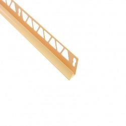Угол внутренний для плитки 9-10 мм х 2,5 м слоновая кость ТП10013039