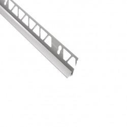 Угол внутренний для плитки 9-10 мм х 2,5 м серый ТП10008115