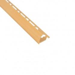 Угол наружный для плитки 9-10 мм х 2,5 м кремовый ТП10013050