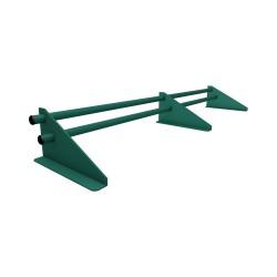 Снегодержатель трубчатый, цвет зеленый, 3 м